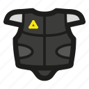 armour, bulletproof, cyberpunk, game, police, rpg, vest icon