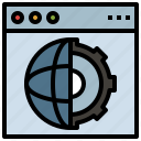 shield, business, global, antivirus, defense, internet, security icon