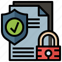 antivirus, files, folders, protection, secure, shield icon