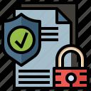 files, folders, secure, antivirus, protection, shield icon