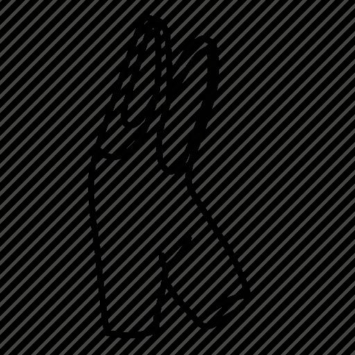 bib, short icon