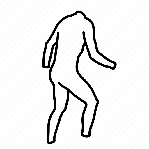 back, long, skinsuit icon