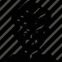 avatar, biker, cyclist, helmet, male, man, moustache icon