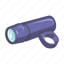 cyclist, equipment, flashlight, outfit, torch