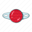 cyclist, equipment, katafot, outfit, reflector, signal icon