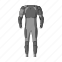 clothes, cyclist, equipment, outfit, overalls icon