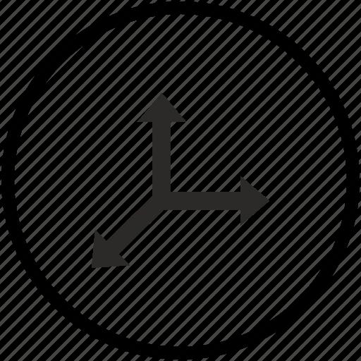 axis, coordinates, geometry icon