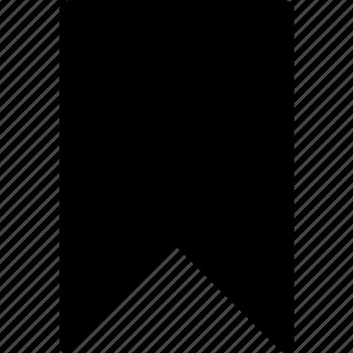 bookmark, favorite, mark, page, ribbon icon