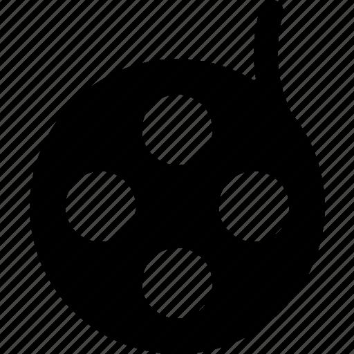 cinema, film, media, movie, record, reel, video icon