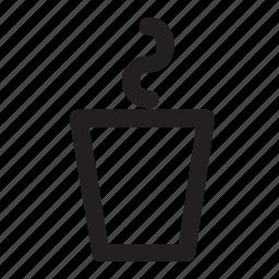 coffee, cup, hot, mug, steaming, tea icon