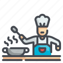 chef, cook, cooking, kitchen, profession