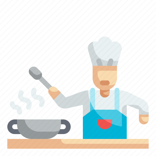 Chef, cook, cooking, kitchen, profession icon - Download on Iconfinder