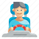 driving, driver, drive, automobile, avatar