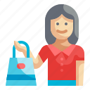 shopping, customer, client, consumer, avatar