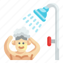 shower, bath, showering, bathing, showers
