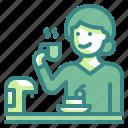 drinking, drink, cup, coffee, mug