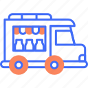 dairy, delivery, milk, product, service, transportation, truck