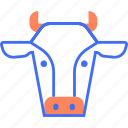 animal, beef, cattle, cow, dairy, domestic, farm icon