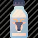 dairy, farm, fresh, goat, milk, organic, product