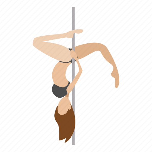 cartoon, character, dancer, erotic, female, pole, sexy icon