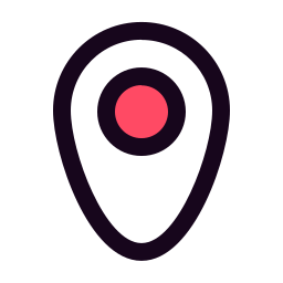 city, country, location, target icon
