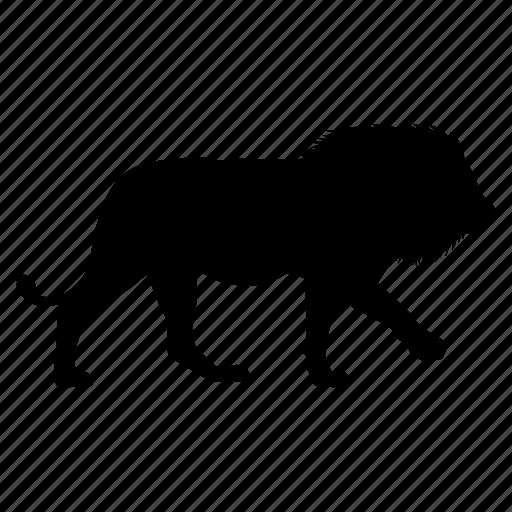 leon, lion icon