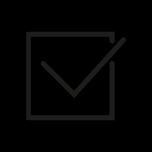 box, check, checkbox, dashboard icon