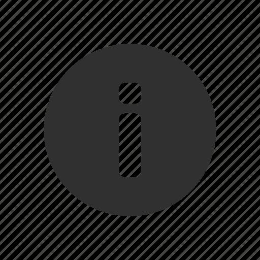 data, details, info, information icon