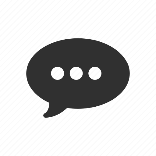 chat, comment, message, notification icon
