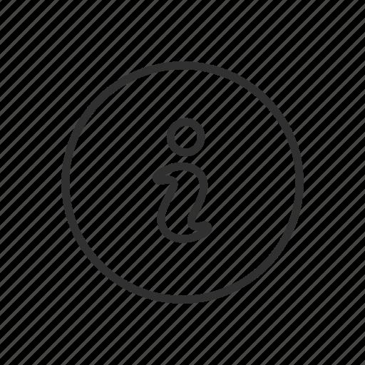 data, files, info, information icon