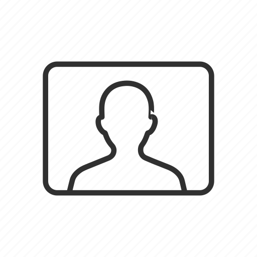 account, id, man, profile icon