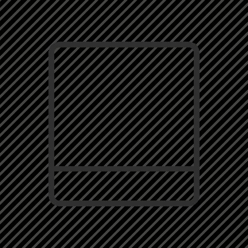 card, id, profile, square icon