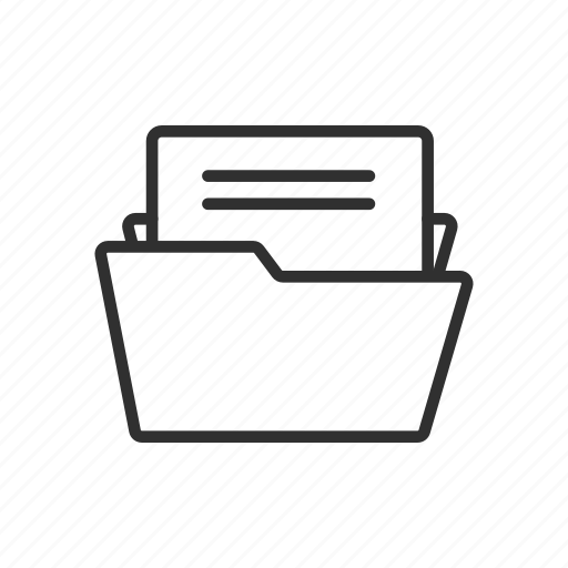 Document, file, folder, save file icon - Download on Iconfinder