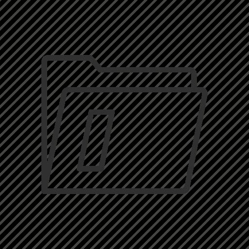 documents, file, folder, information sheet icon