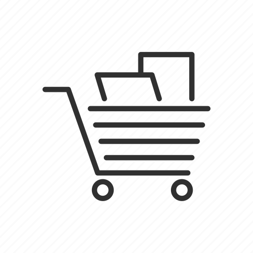 cart, ecommerce, grocery cart, shopping cart icon