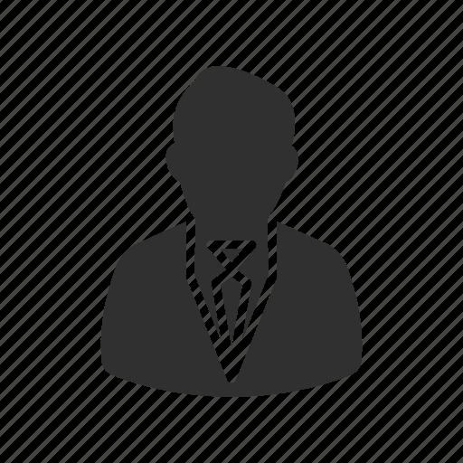 avatar, business man, male, man icon