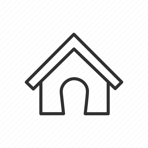 dog house, home, house, household icon