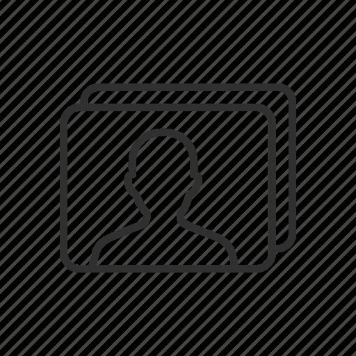 gallery, photo, picture, profile icon