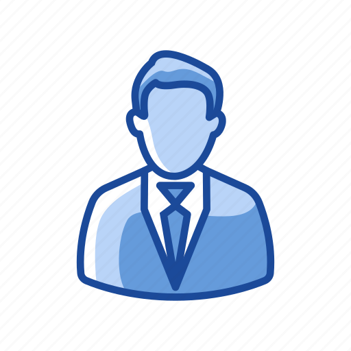 avatar, business man, corporate man, man icon