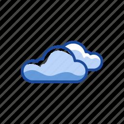 cloud, creative cloud, mist, sky icon