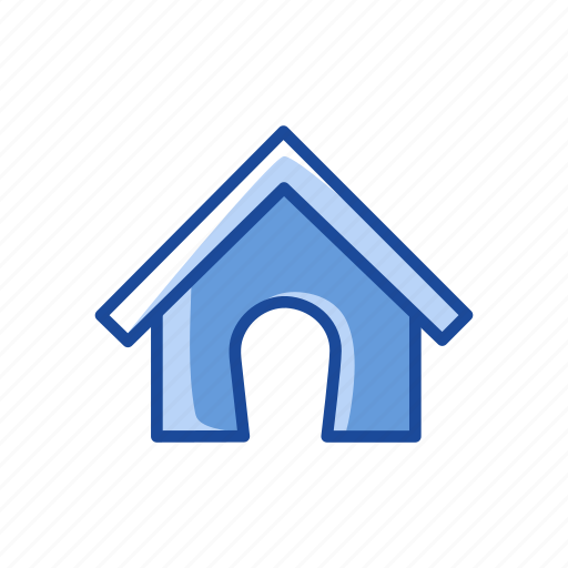 dog house, home, home page, house icon