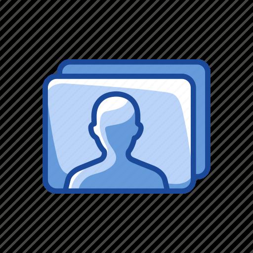 avatar, id, identification, picture icon
