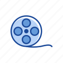 film, movie, tape, video icon