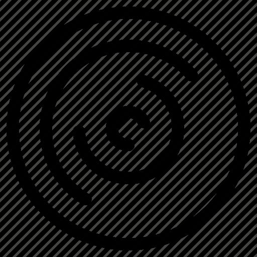 analysis, circles, doughnut, statistics icon