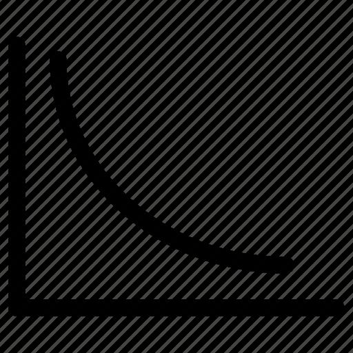 chart, curve, data analysis, statistics icon