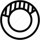 analysis, doughnut, doughnut chart, statistics icon