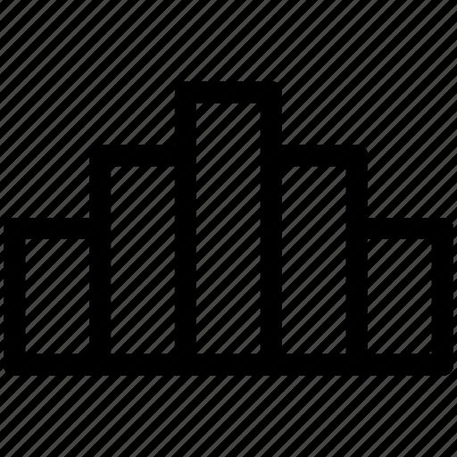 analytics, bar chart, histogram, statistics icon