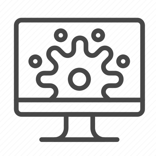 analyze, config, data, manage, method, process icon