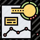 analysis, chart, data, file, graph