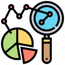 analytic, chart, pie, predictive, research